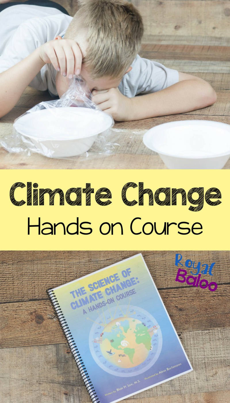 Learning about climate change and teaching climate change to your kids doesn't have to be hard. This hands on course spells it all out.