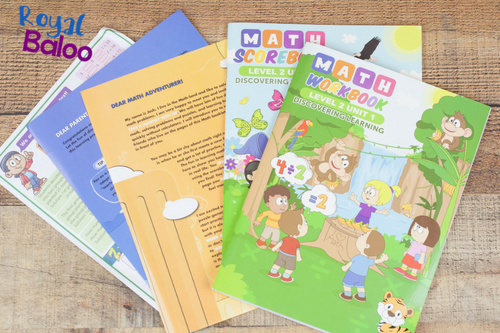 Make math fun and exciting by having it arrive right at your door every month in a fun and colorful booklet! Kids can love math with the right tools.
