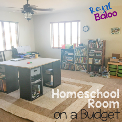 A New Homeschool Room on a Budget