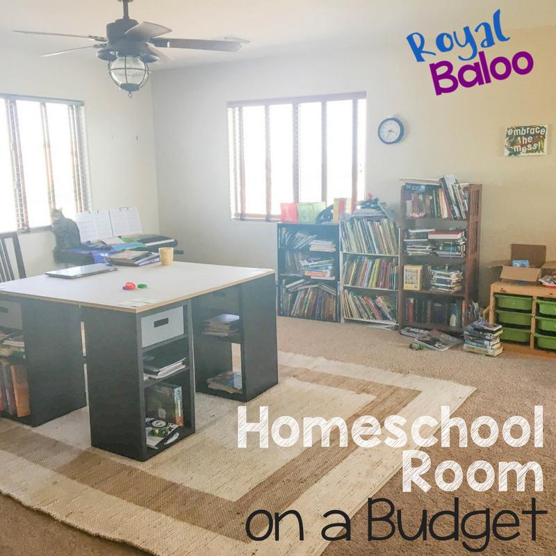 Homeschool Room Ideas Small Spaces: A New Homeschool Room On A Budget