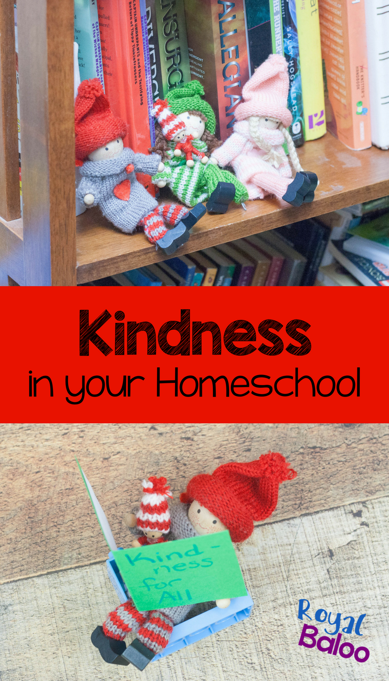 How do you involve teaching kindness with your everyday homeschool schedule? It isn't always easy to model kindness but these elves make it more simple.