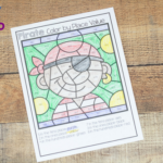 Pirate Color by Math – Addition, Fractions, and Place Value