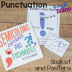 Punctuation Guides for Kids – Booklet and Posters