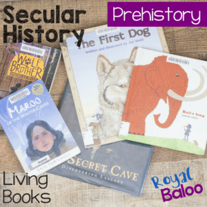 If you think history is best experienced through great literature, then we have an amazing book list for you. Prehistoric living books for secular history.