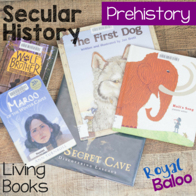 Prehistory Living Book List – A Secular Historical Fiction List