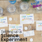 Setting Up a Science Experiment with Water Testing Kits