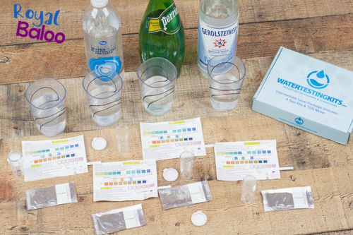 Teach your kids to set up a proper science experiment with the Water Testing Kits. Easy to set up experiments that produce fast and easy results.
