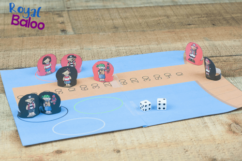 Work on rounding by 10s with this fun pirate rounding printable game! Make the pirates walk the plank as you practice your rounding skills!