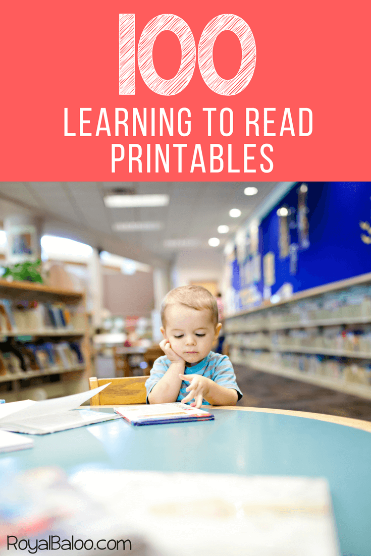 Learning to read got you down? Just need a little more help? This great list of printables will get you back where you want to be!