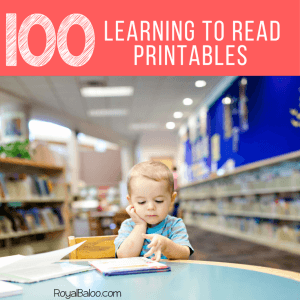 100+ Learning to Read Printables