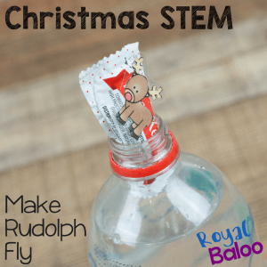Can you make Rudolph Fly? A Christmas STEM Project