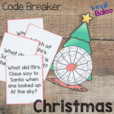 Christmas Code Breakers for Addition and Multiplication