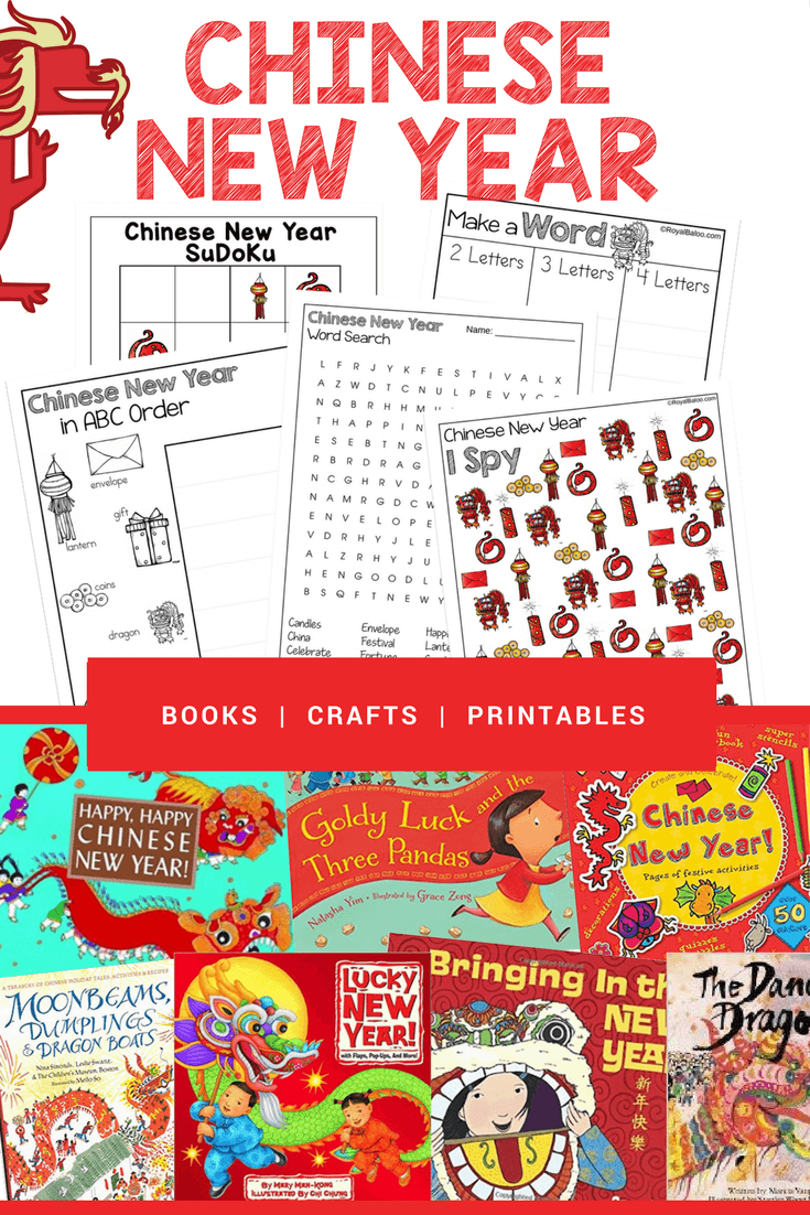 Enjoy the culture and traditions for Chinese New Year with this fun unit study! Books, crafts and activities, and a set of printables for the holiday!