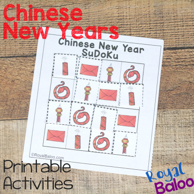 Chinese New Year Hands On Unit Study