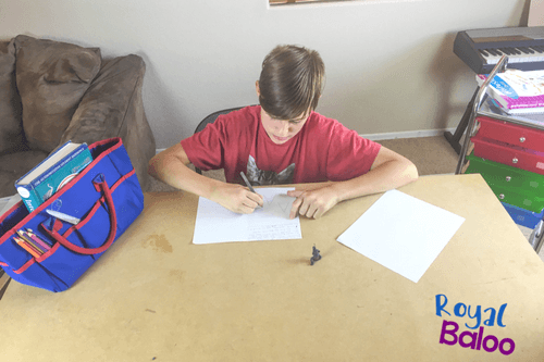 Just a few simple steps to creating your own awesome writing center at home! Inspire your kids to write by giving them a great place to write.