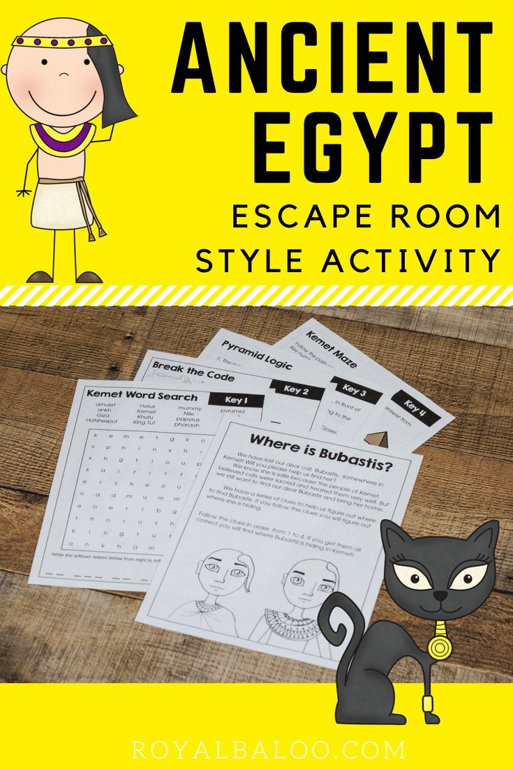 ancient egypt escape room photo