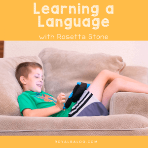 Learning a Language in your Homeschool is Easier with Rosetta Stone