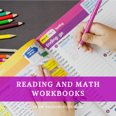 Reading Eggs Workbooks – Continue the Learning Offline, too