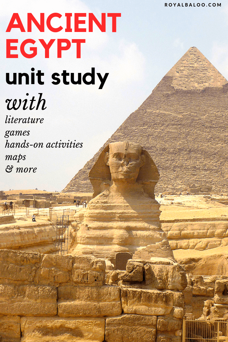 pyramids and Sphinx from Ancient Egypt