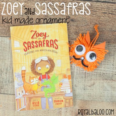 Zoey and Sassafras – Kid Made Ornament