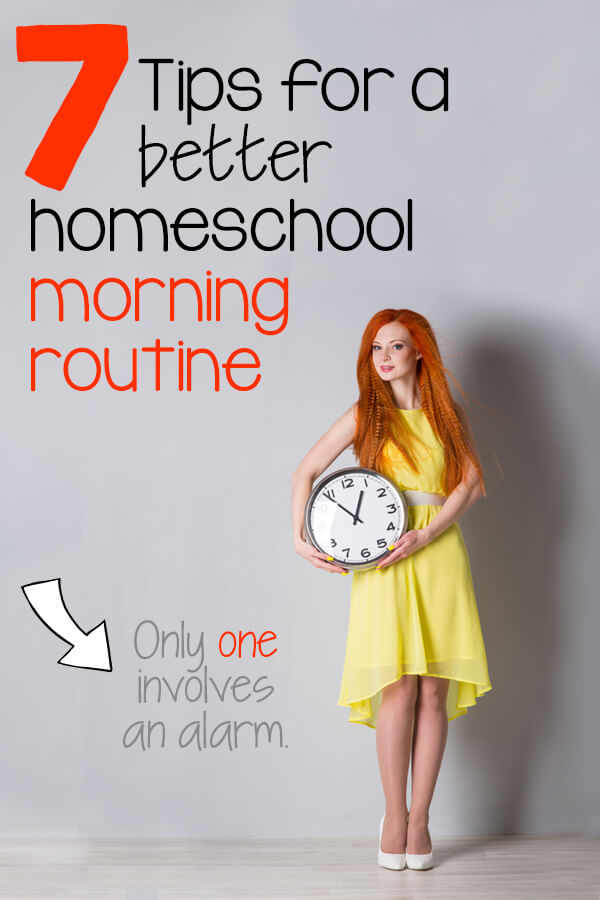 Are you desperate for a better way to start your morning but don't know where to start? Tired of age-old advice of just setting an alarm? This night owl is changing her ways using some of these tips - and it's time to share. #homeschool #morningroutine