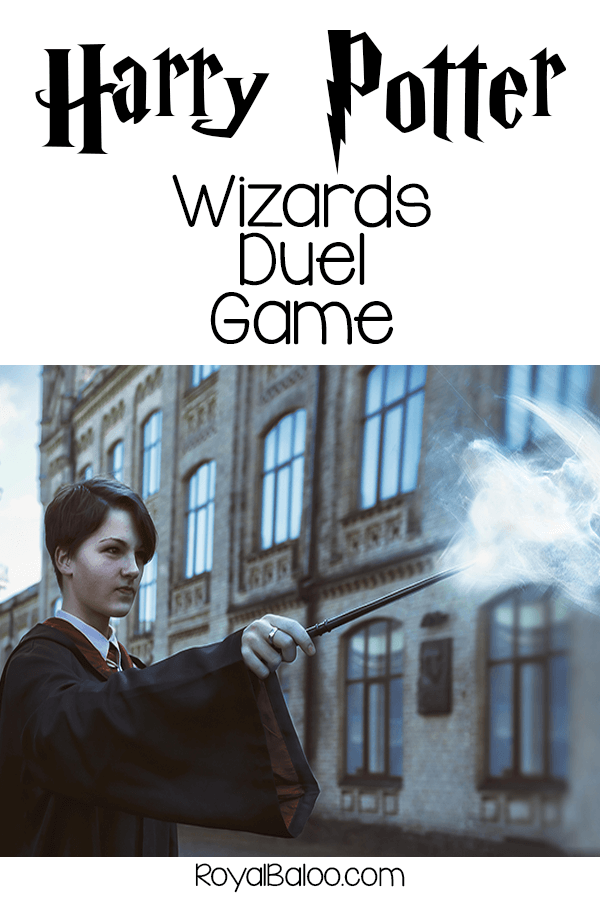 Have your own Harry Potter style Wizard's duel! Battle your friends to see who is the best witch or wizard in all the land.