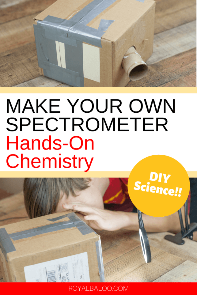 Make your chemistry lessons hands on with this DIY spectrometer!