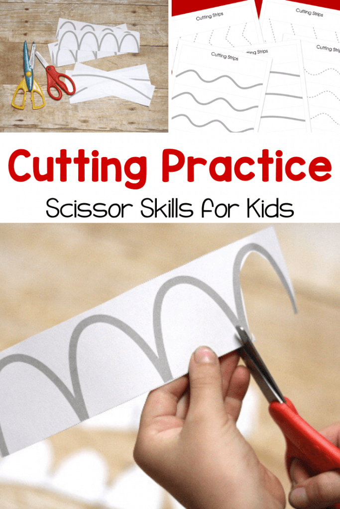 These free pritnables are perfect for cutting practice and working on scissor skills.